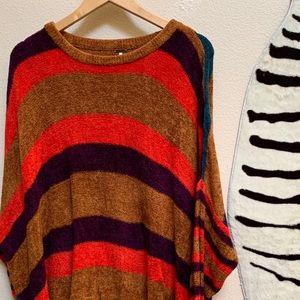 FREE PEOPLE Striped long sleeve sweater